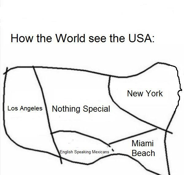 How the World see The USA