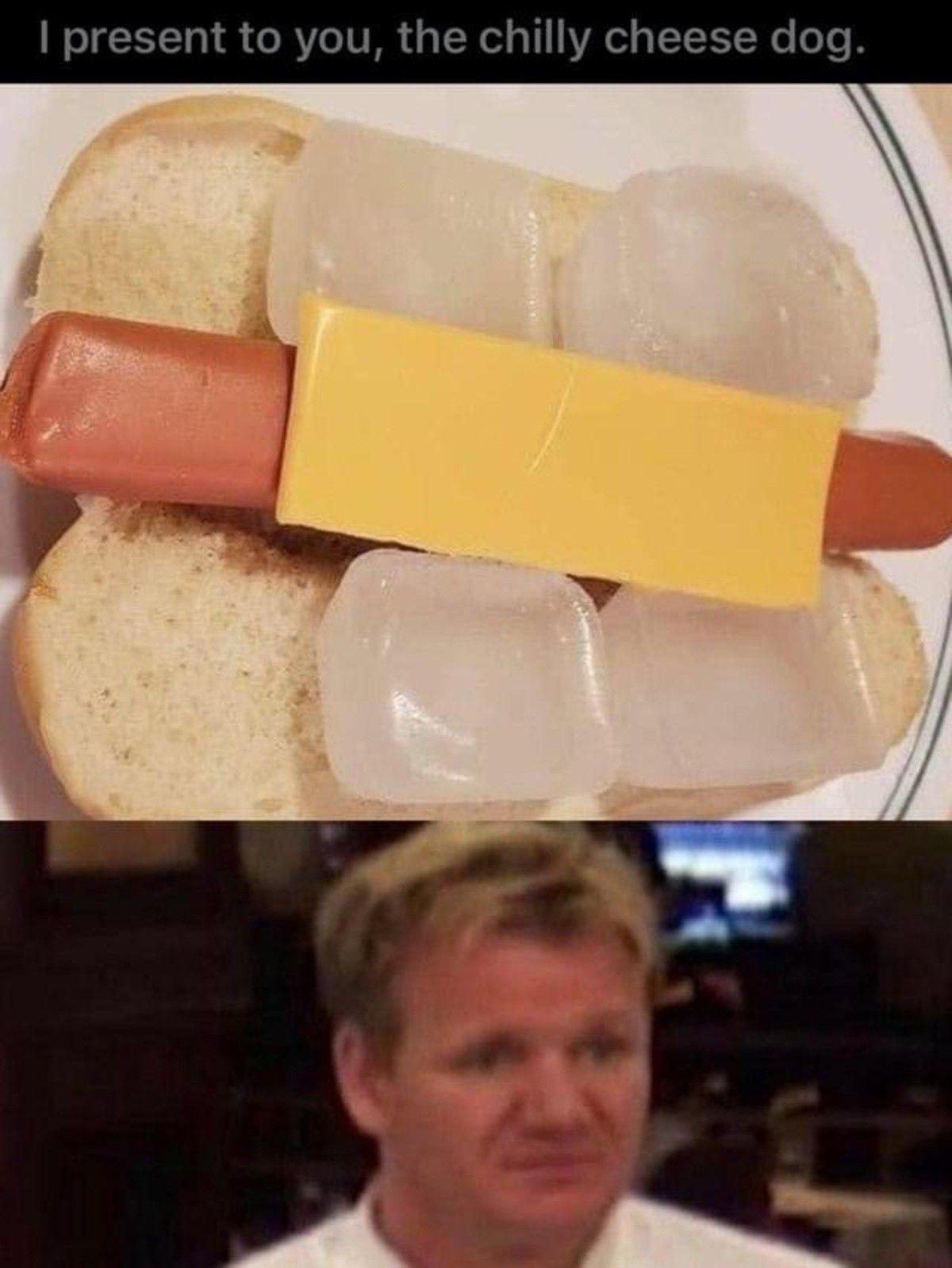 Haha, food go brrr
