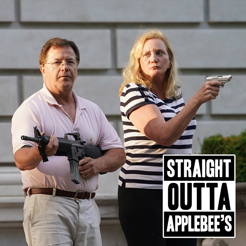 Straight outta Applebee's