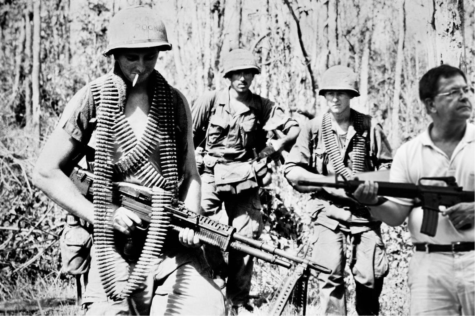 My dad in Vietnam.