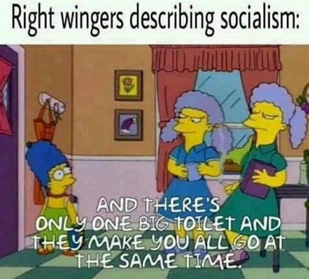 Communism will win.