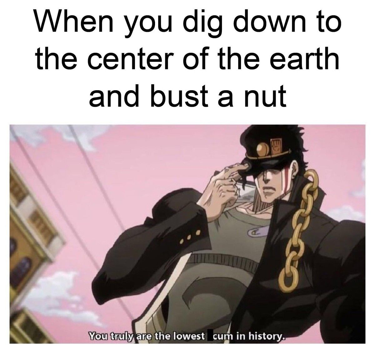 When you're down there, you experience 0G