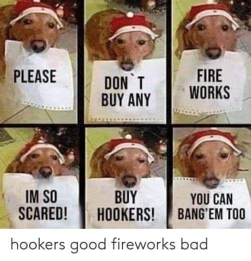 Hookers it is