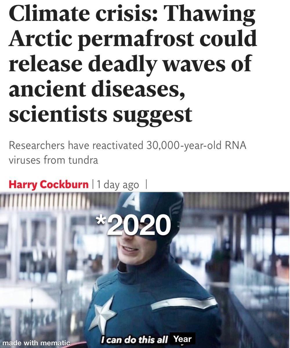 2020 hasn't stopped surprising me yet