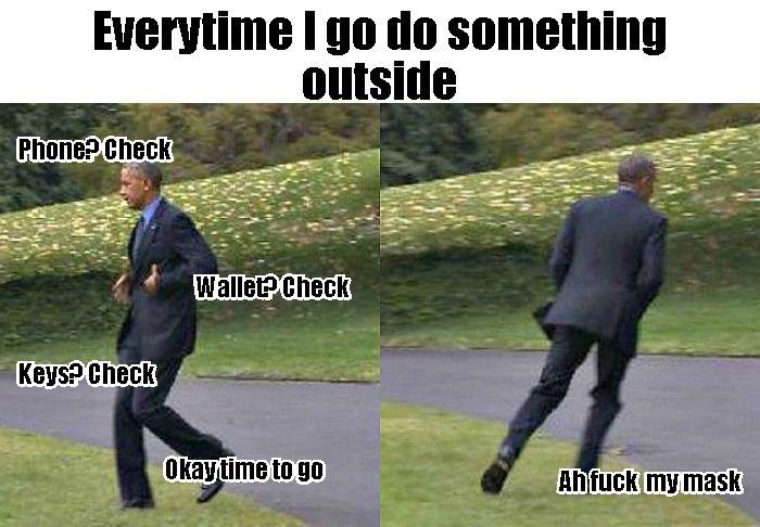 Every time I go do something outside
