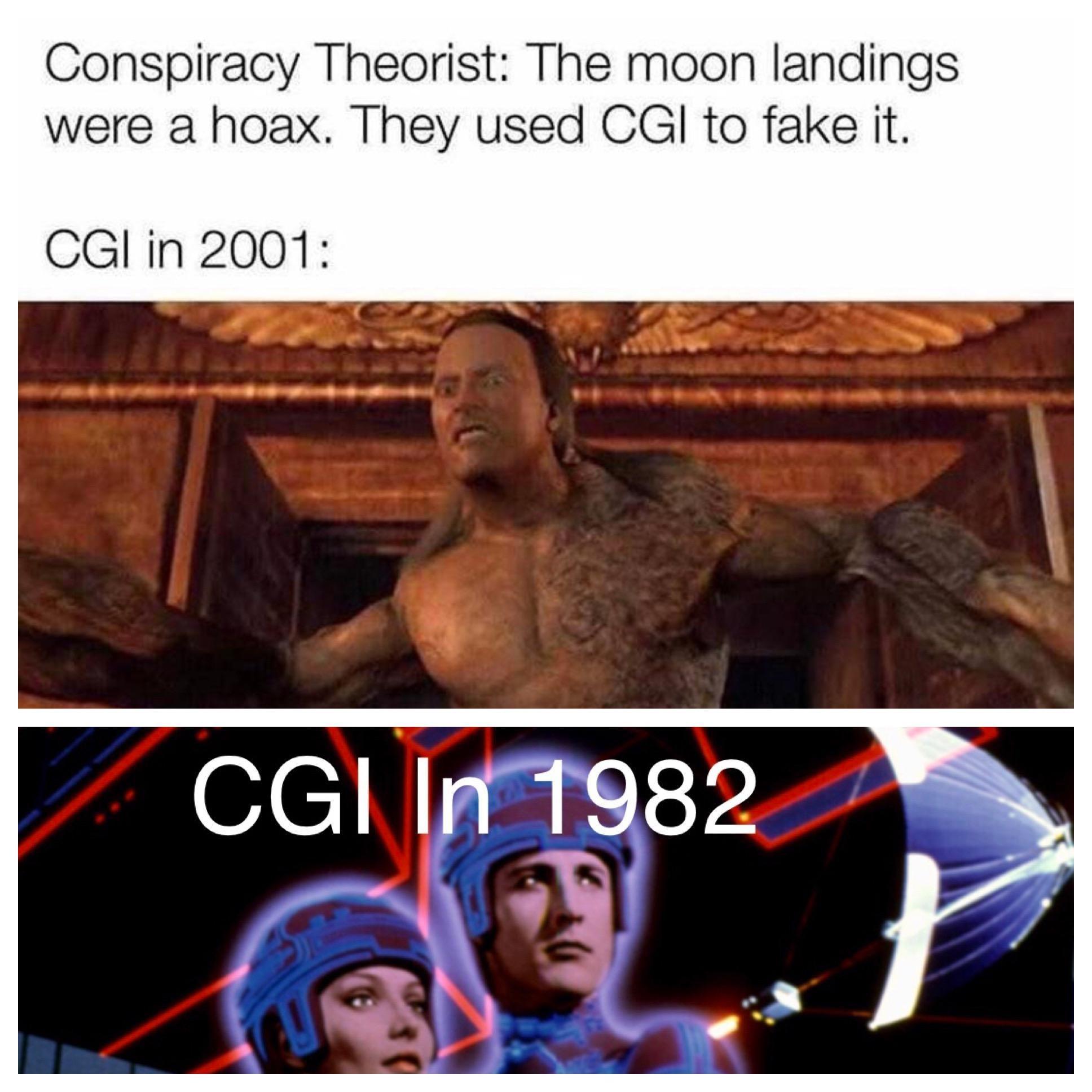 Moon landings were a hoax