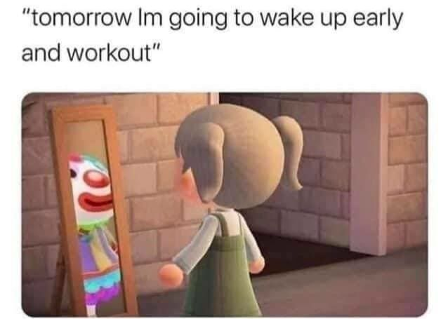 Tomorrow I'm going to start on that diet
