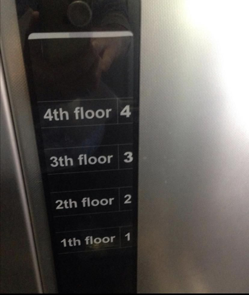 Dentist's floor is number 2