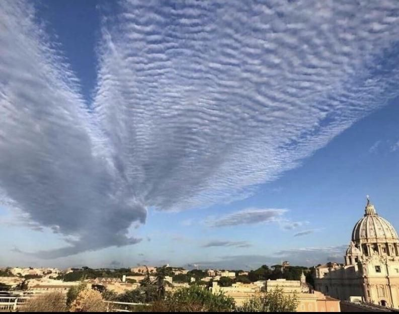 And then the cloud eagle came...