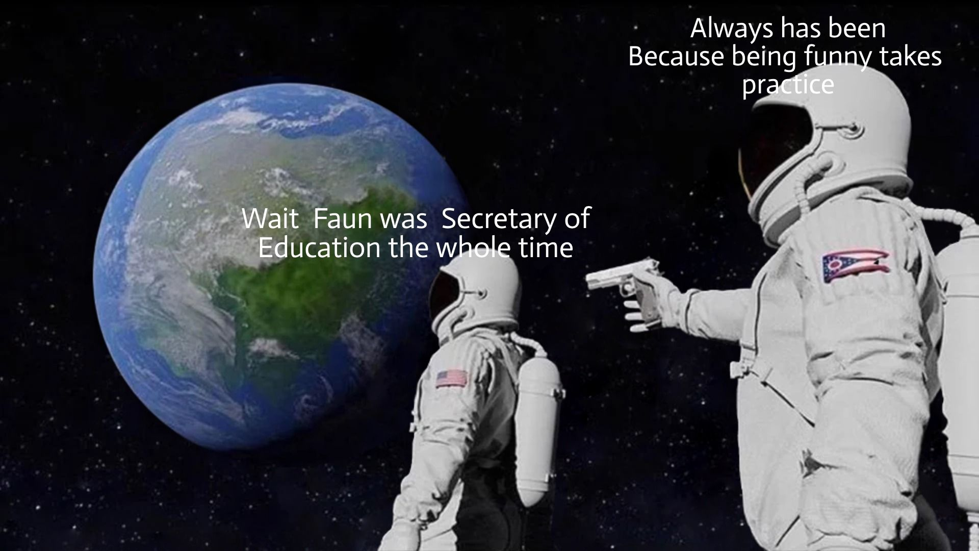 Vote Faun for Minister of Education #HLELECTION #2times