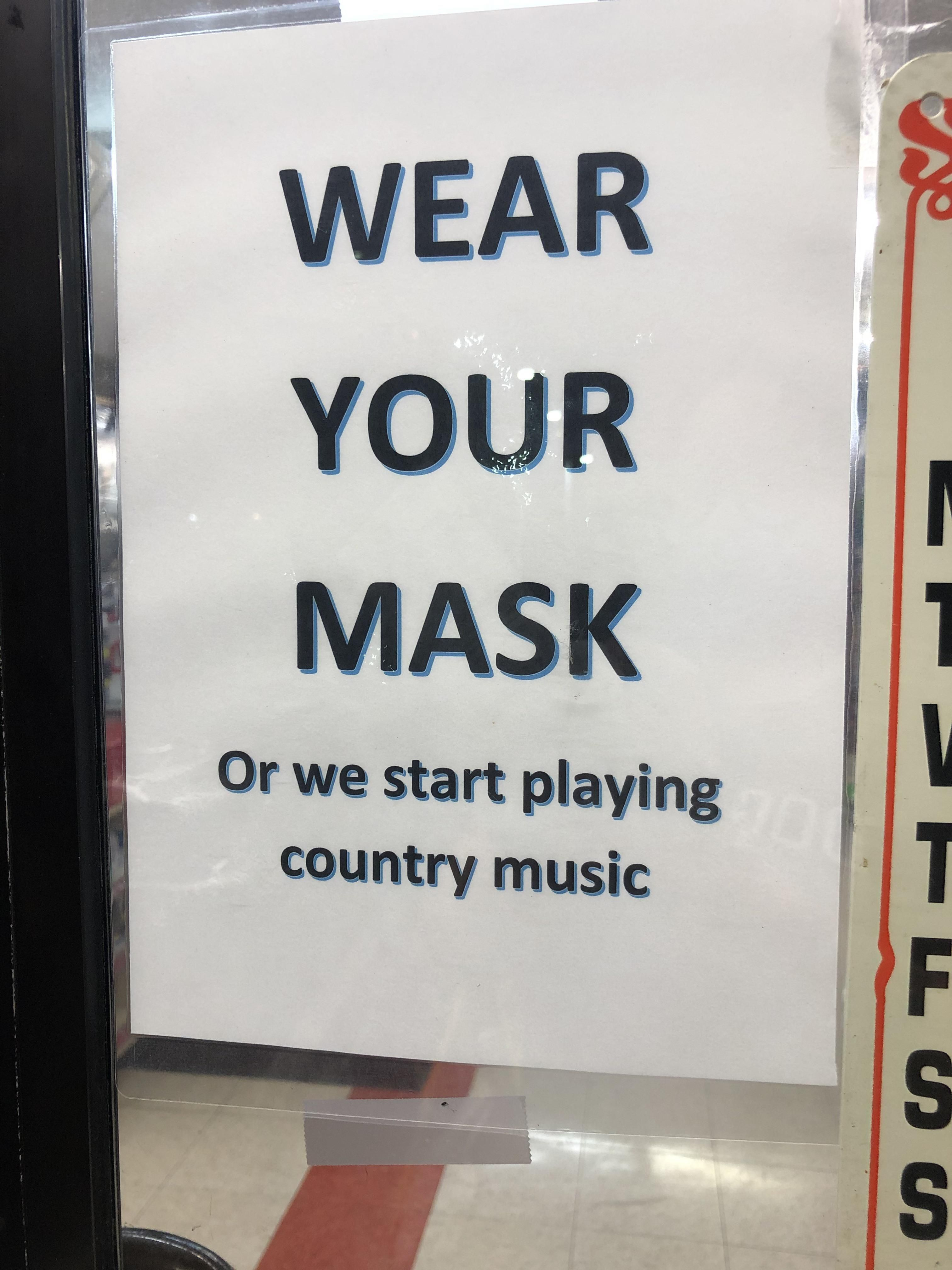 This gas station doesn't play.