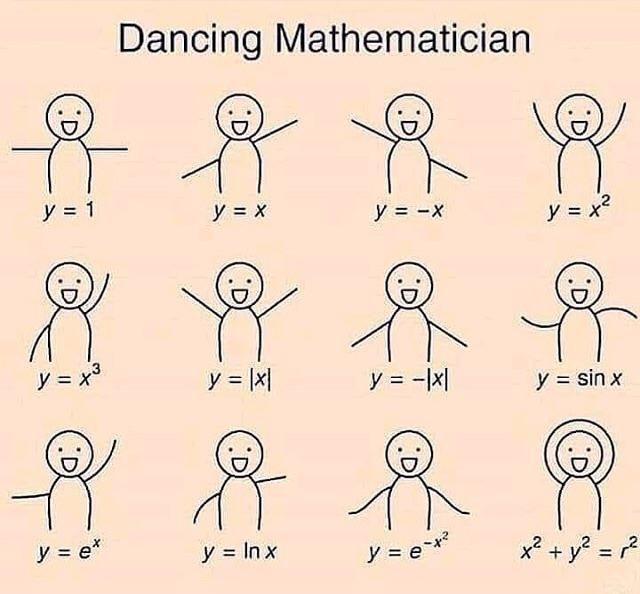 My teacher was dancing like that