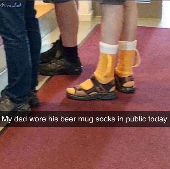 Classic dad move