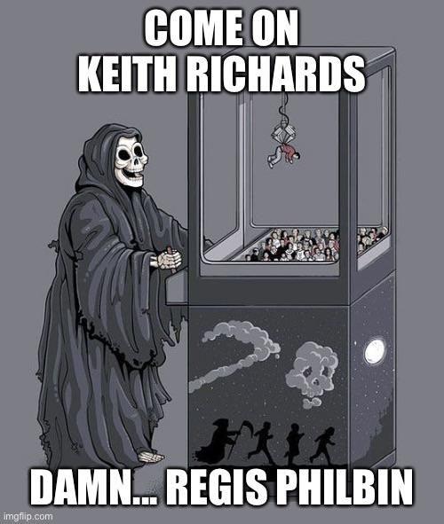 RIP Regis