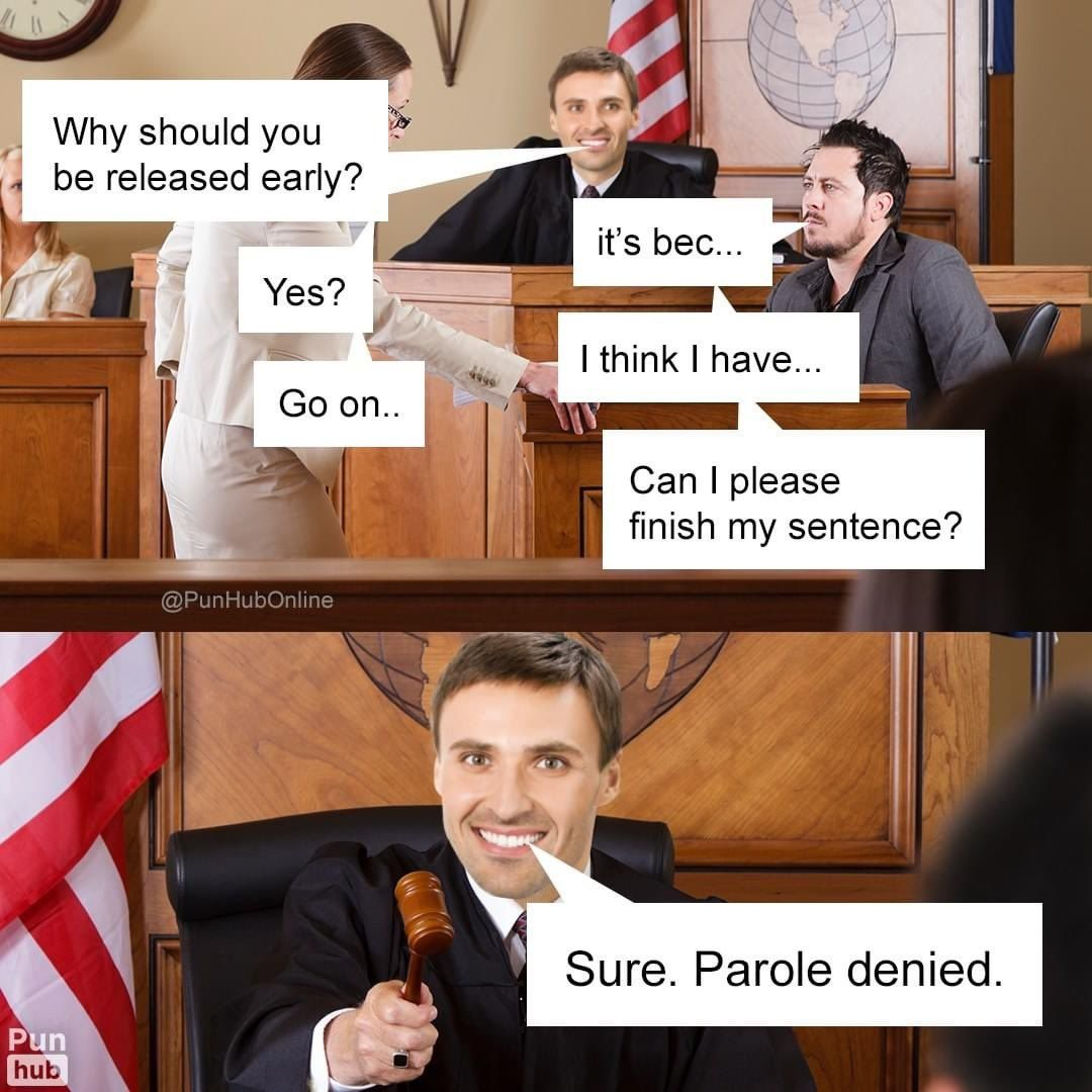 Parole denied