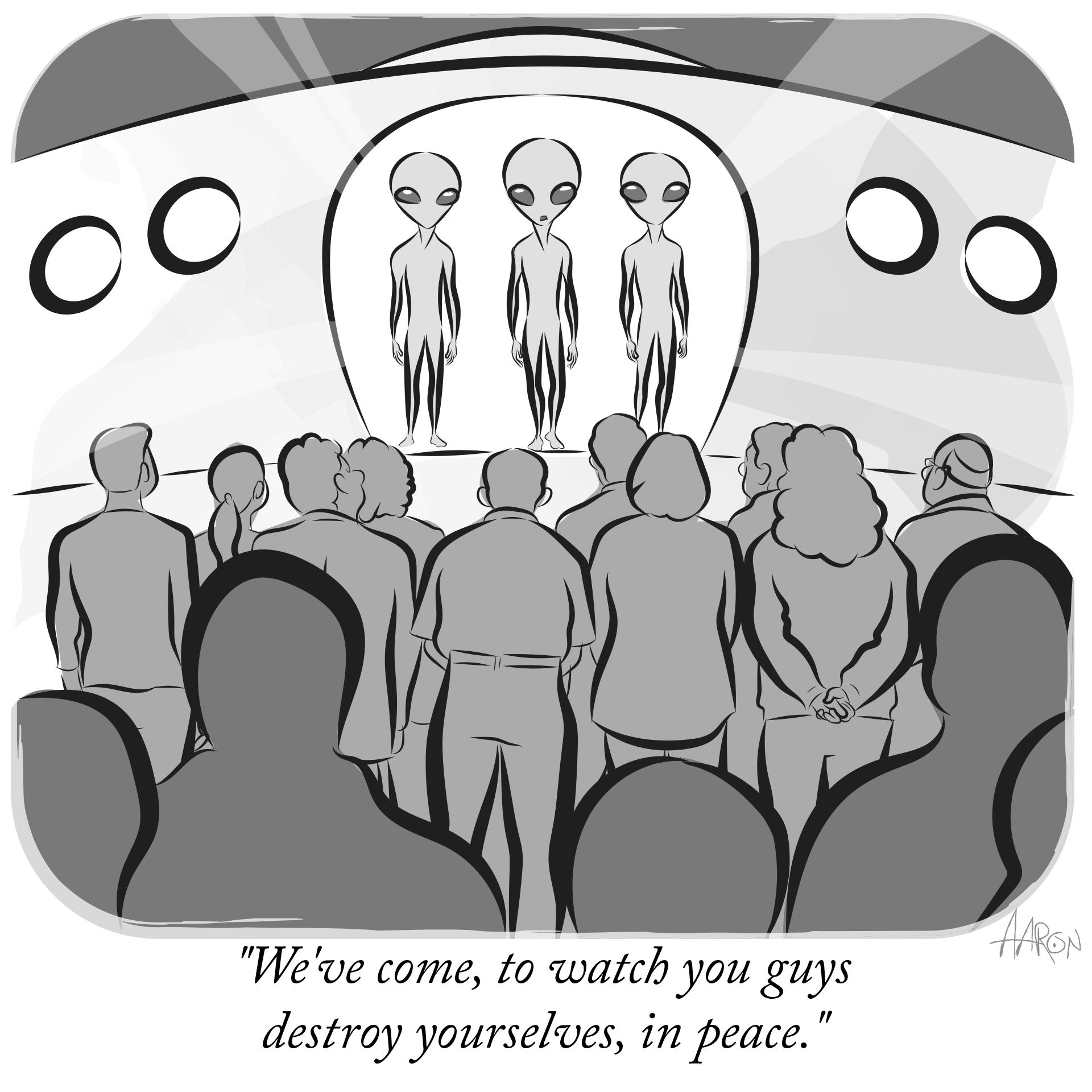 Alien invasion of privacy