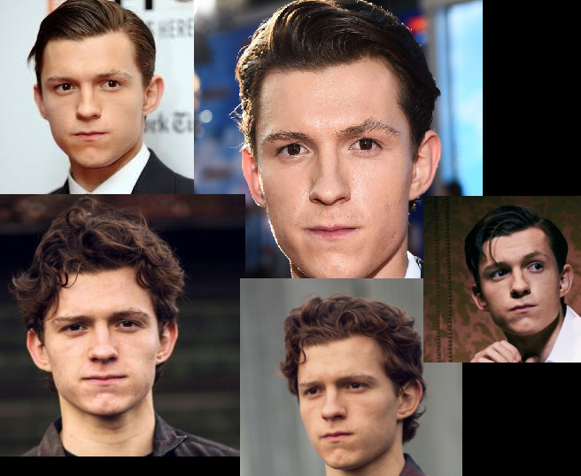 Why does Tom Holland look like he just drank something and won't swallow it?