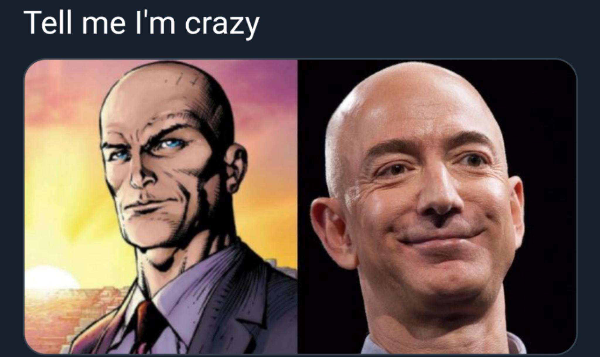 Jeff Bezos is Lex Luthor