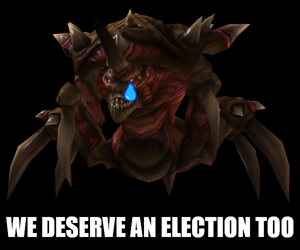 Minister of lurkers election when?