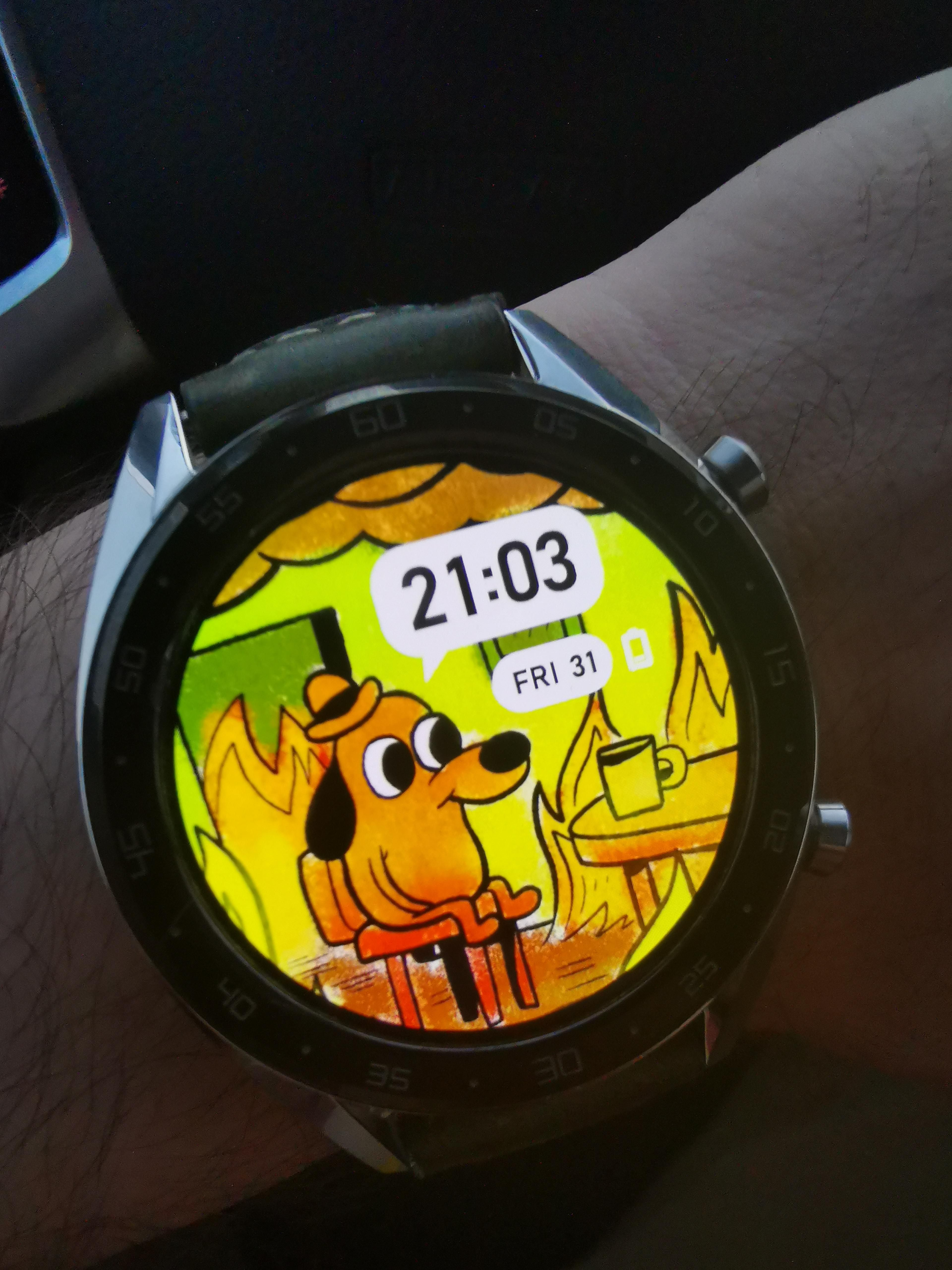 My new watch face.