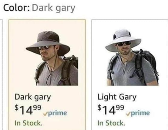 Choose your gary, as they try to eliminate the other. For there can only be. One. Gary.