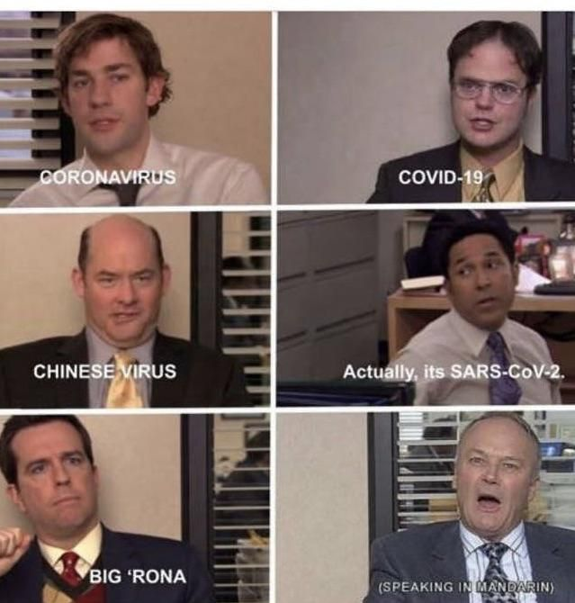 How The Office characters would describe COVID-19