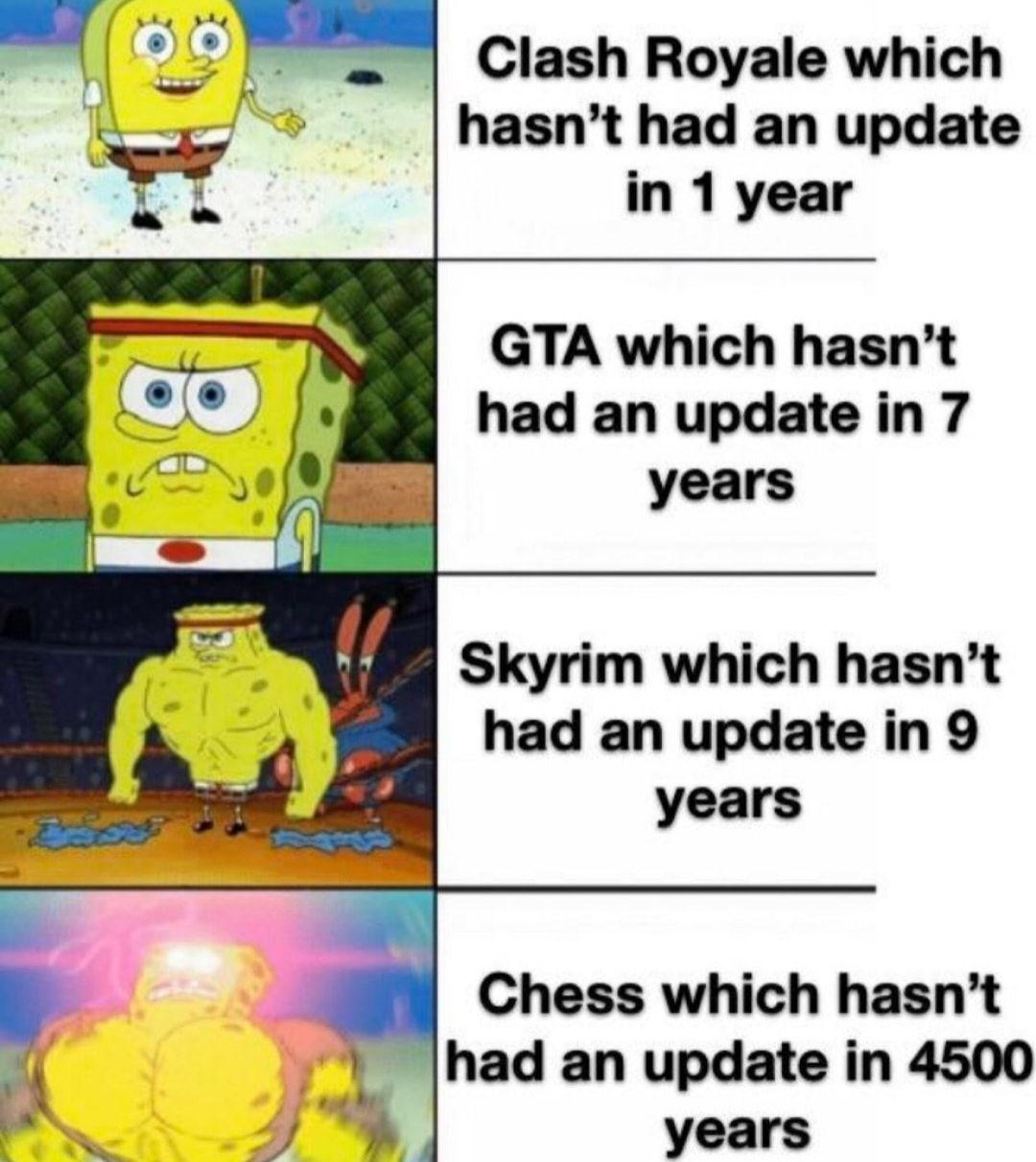 Chess needs a good update