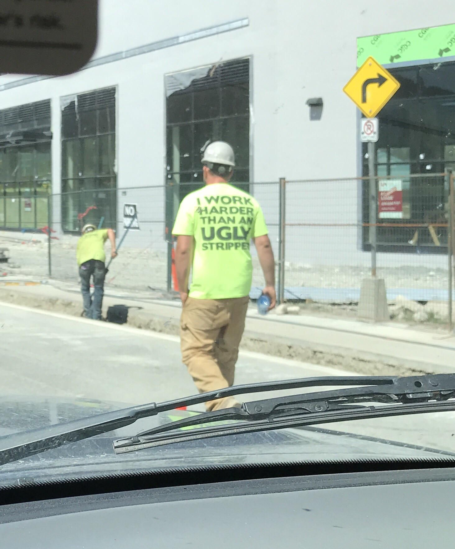 Drove Past This Hard Working Guy