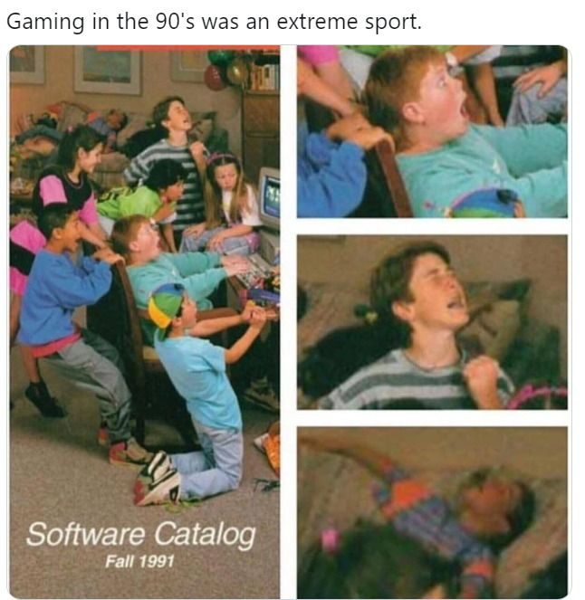 Those were games!