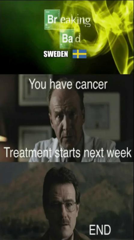 Breaking bad: Swedish edition.