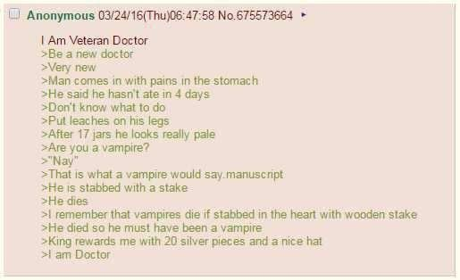 anon is docter
