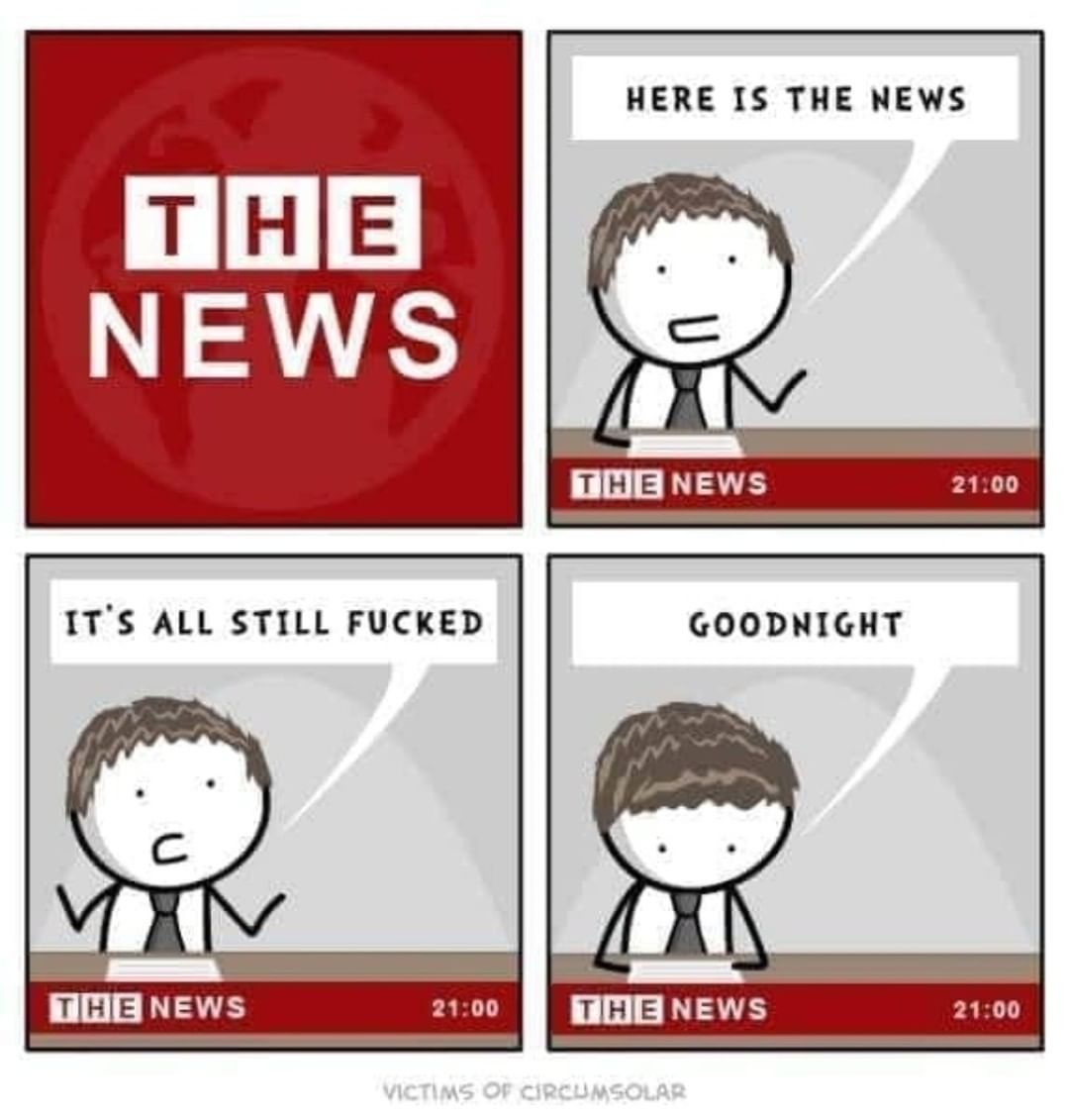 Basically any news channel these days smh