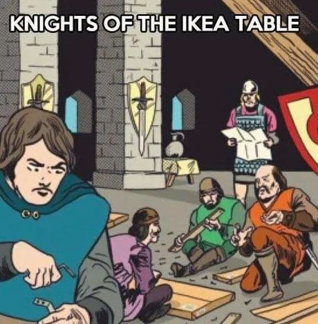 Knights assemble!