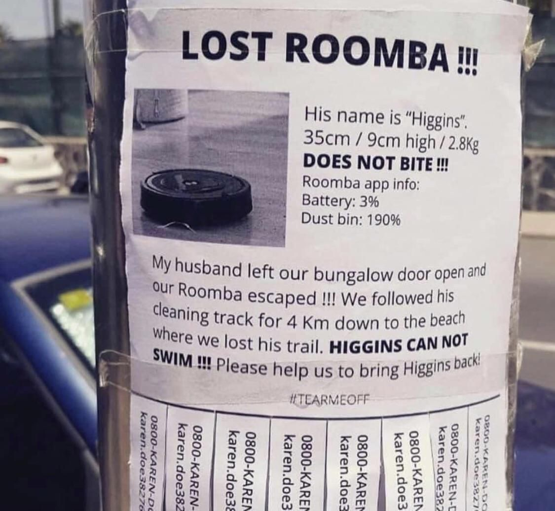 Has anyone seen Higgins?