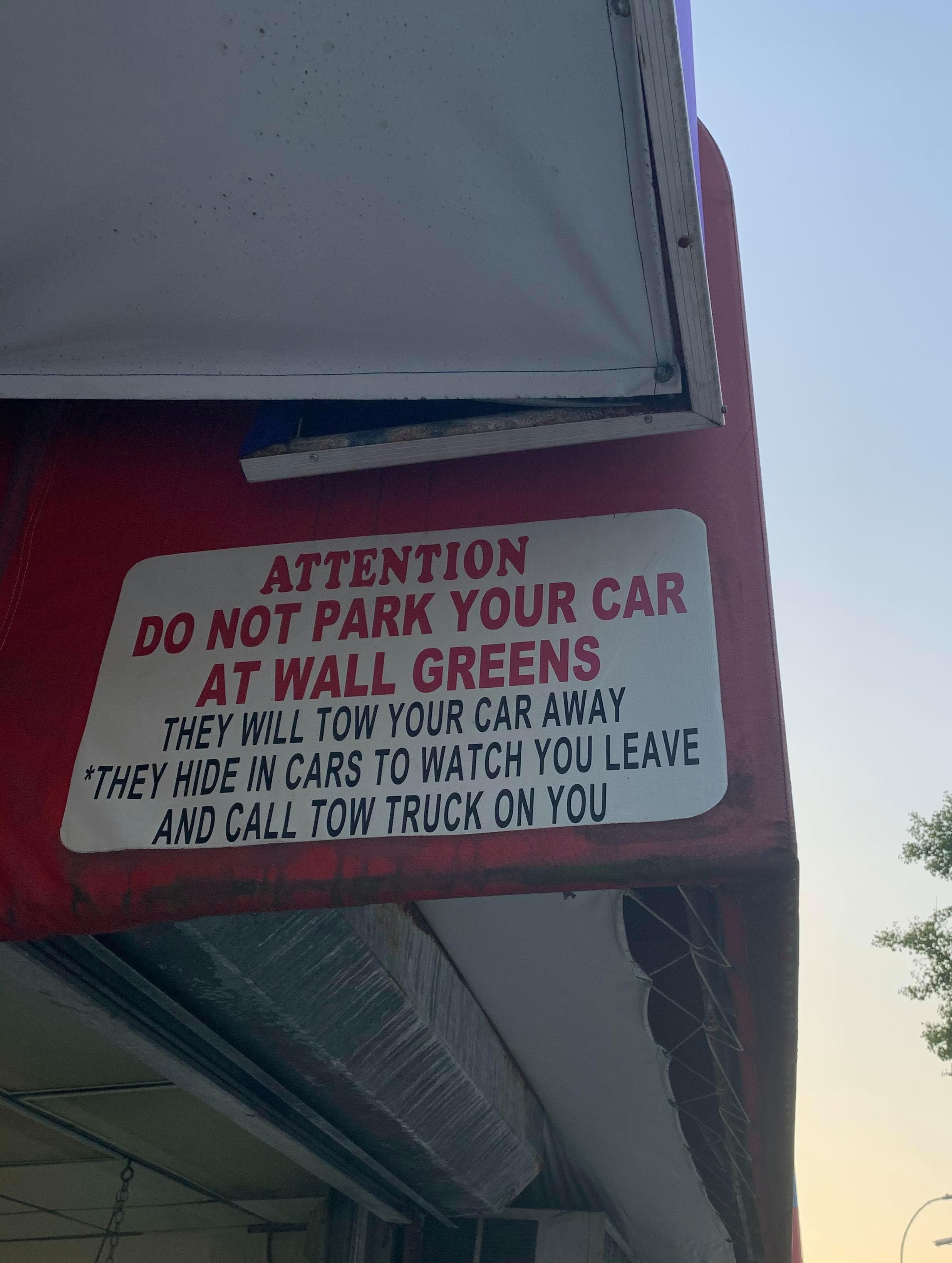 Don't say you weren't warned