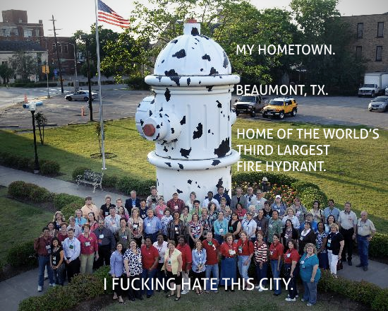 There are two hydrants bigger than this?