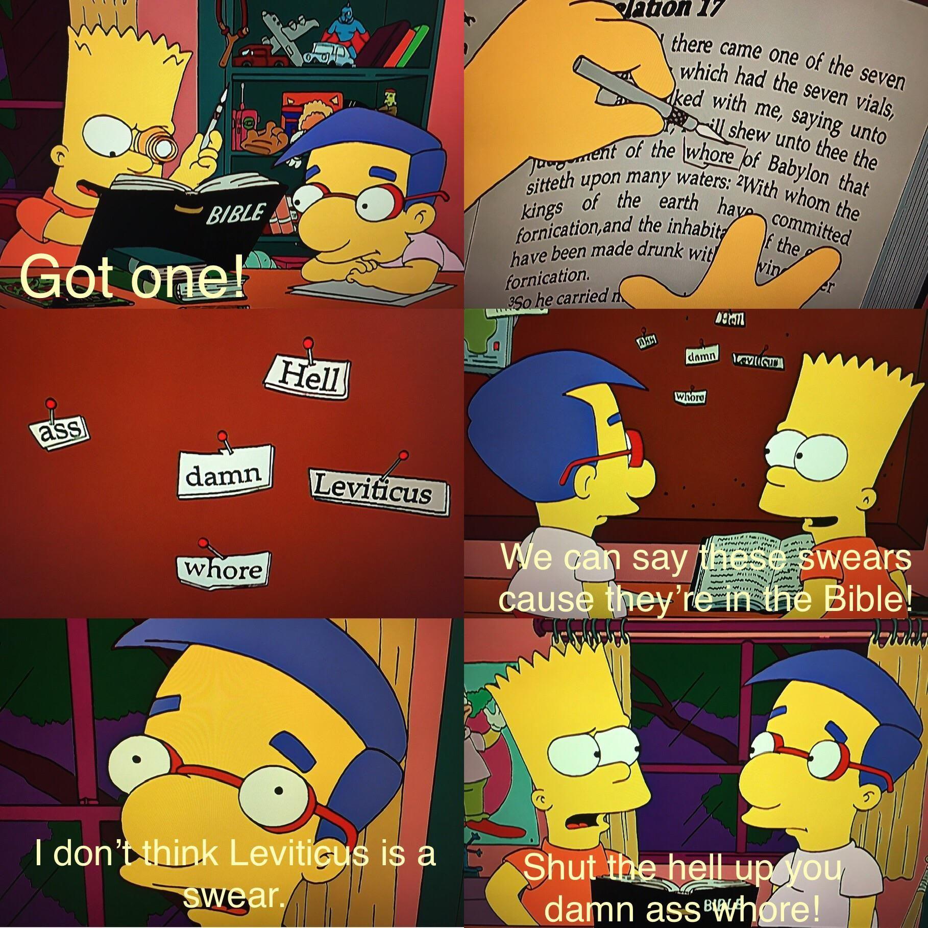 Bart Bible hack