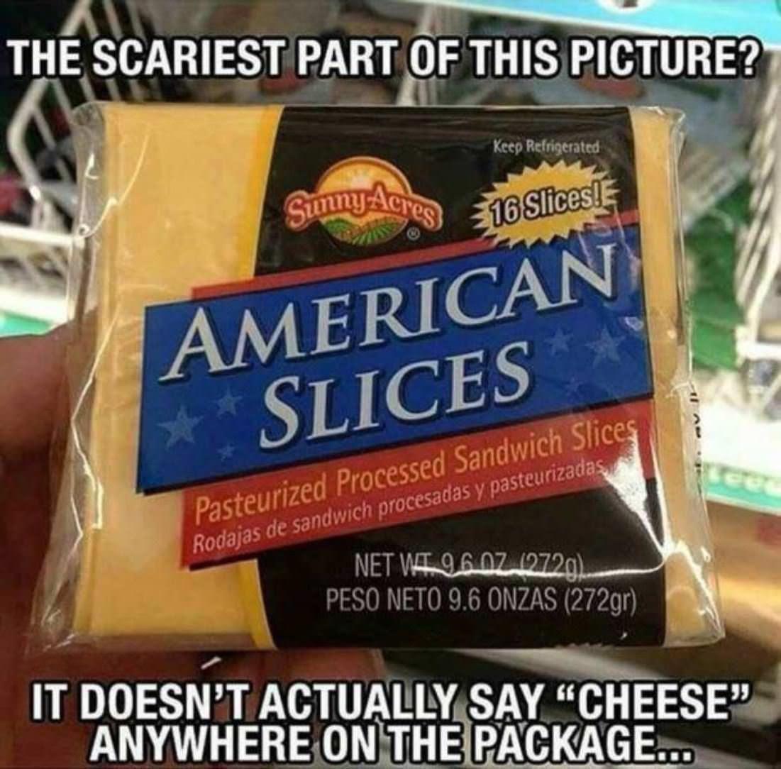 "Disturbing ""Cheese"""
