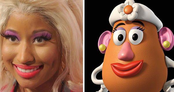No wonder Nicki Minaj looks familiar!!