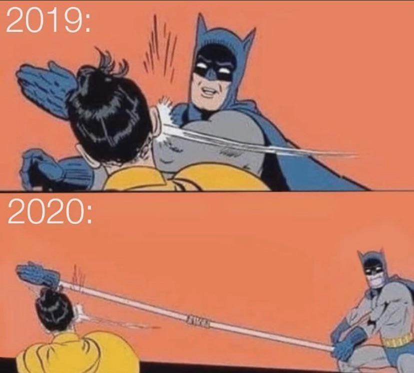 2020 slaps way harder than 2019