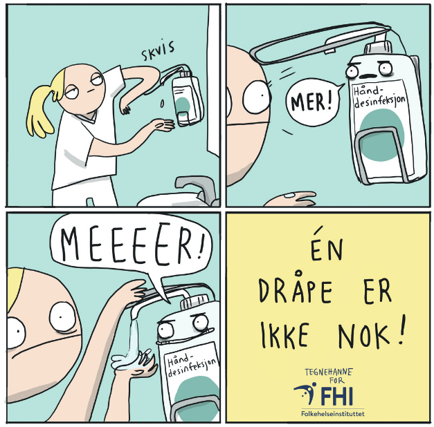 """The Norwegian Institute of Public Health's """"One Drop is Not Enough"""" poster is something else"""