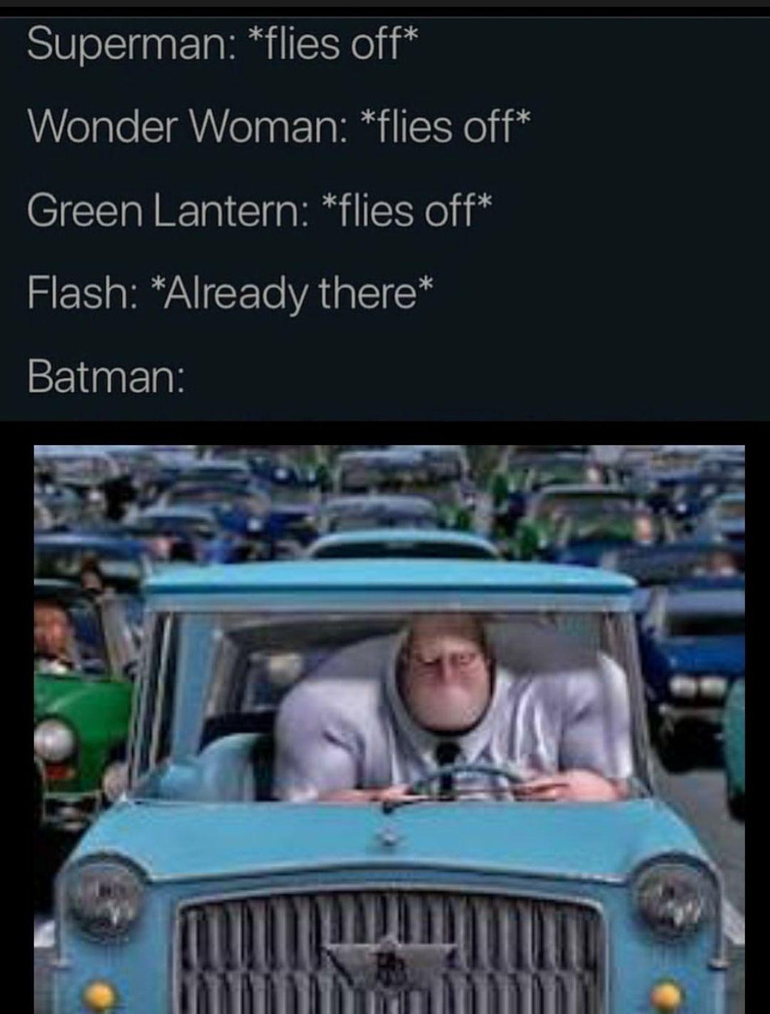 Sad batman noises
