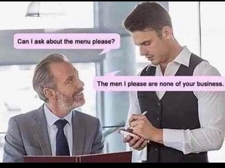 The men you please