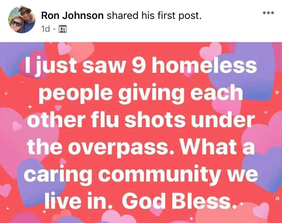 god bless brehs, they gettin the anti-rona vaccune