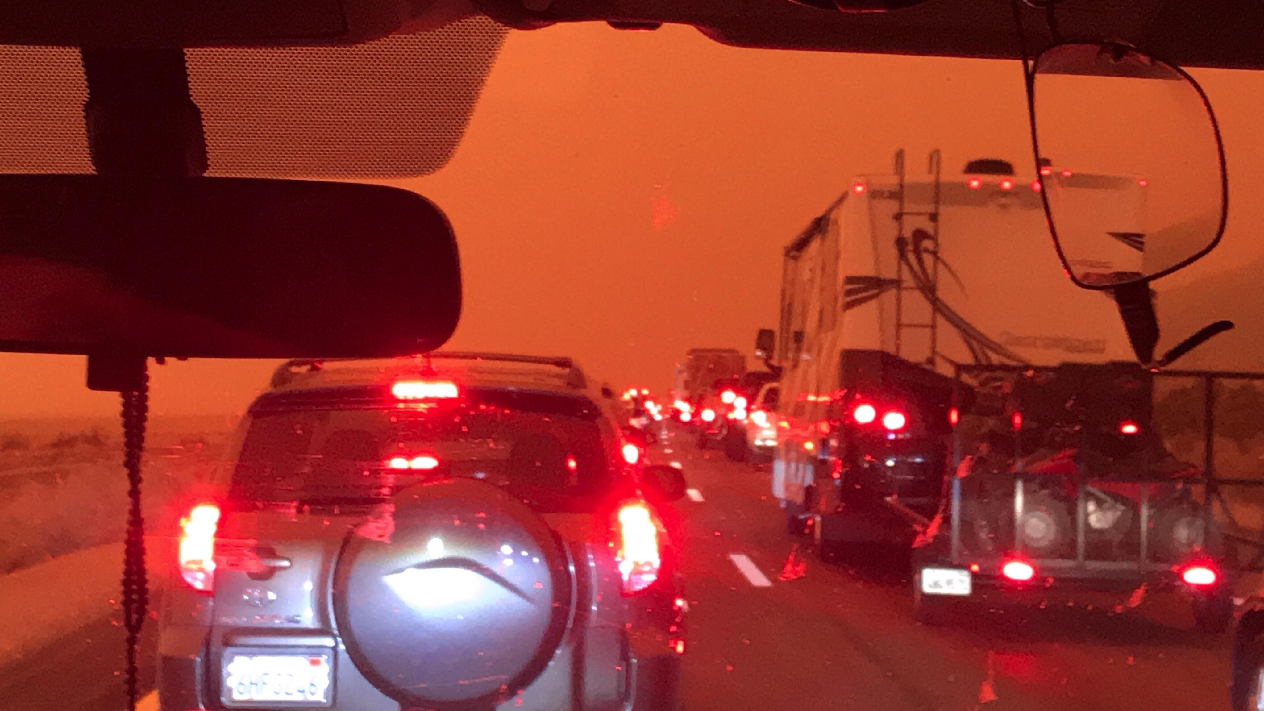 ***ing traffic on Mars too