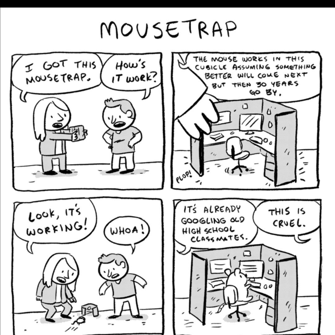 Poor mouse :(