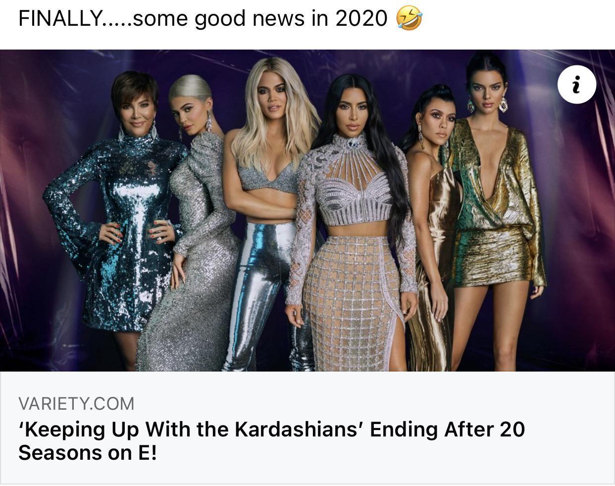 Finally! Good news in 2020