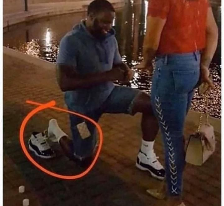 you deserve to be treated as good as this guy treats his Jordans