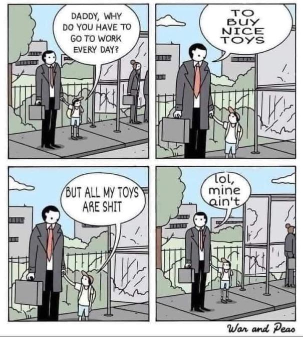 Get a jobb kid!