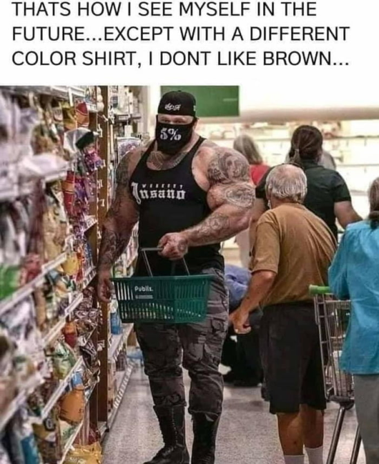 It just isn't my colour